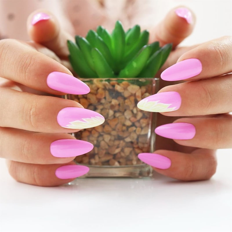 Pink Power Manicure