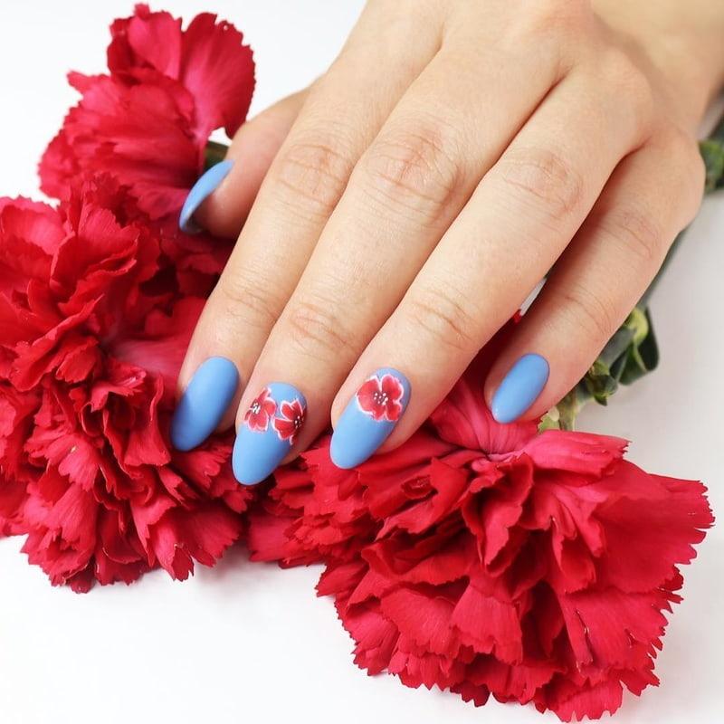 Red Matte Blossom