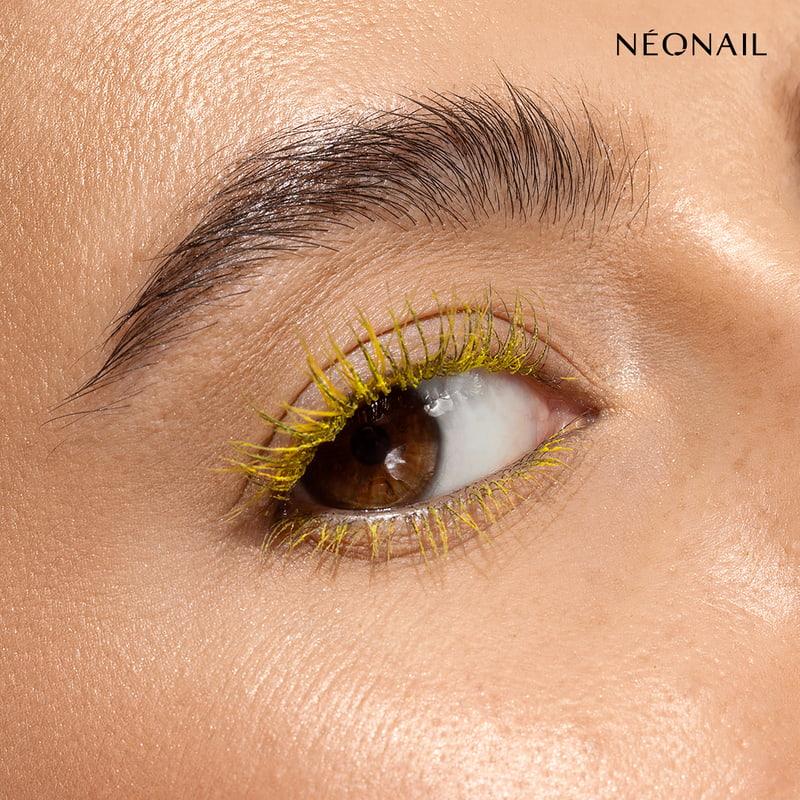 Zółta mascara- tusz do rzęs
