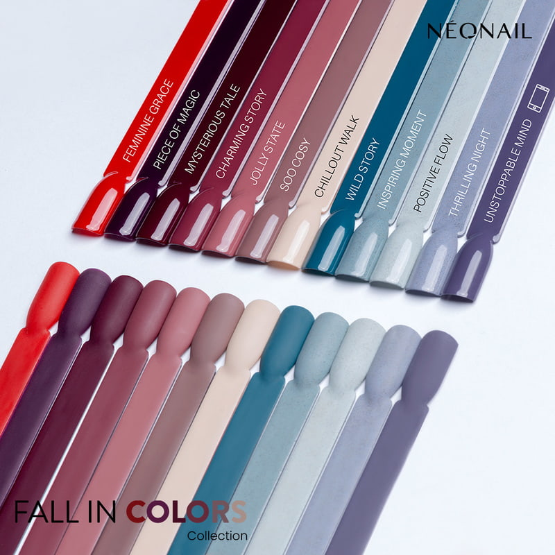 Wzorniki kolekcji jesiennej Fall in Colors