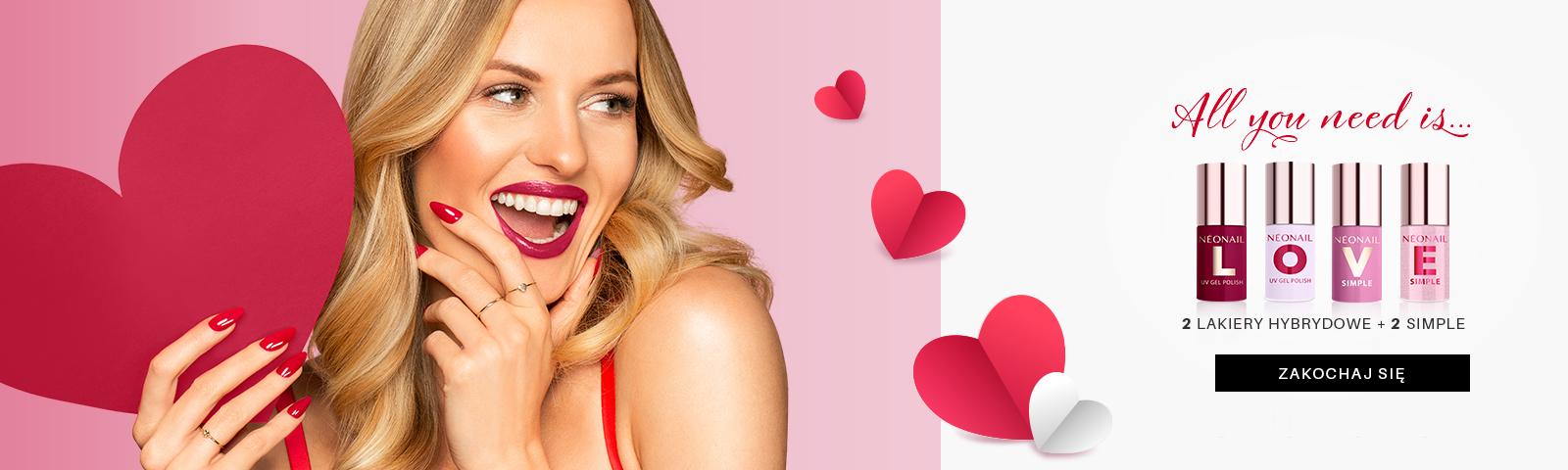 Kolekcja LOVE Zakochaj się w limitowanejkolekcji walentynkowej  ❤️️Kolekcja LOVE ❤️️