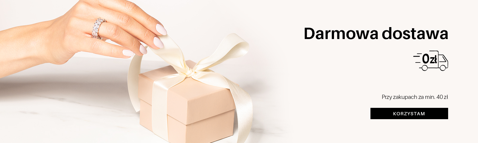 DD przy zakupach za min. 40 zł. (17.05.2021) Darmowa dostawa od 40 zł  NA ZAKUPY!