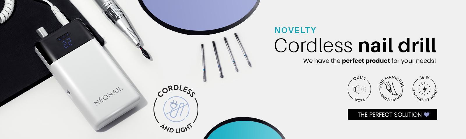 frezarka l36 Cordless Nail Drill comfort guarantee!  TRY IT!