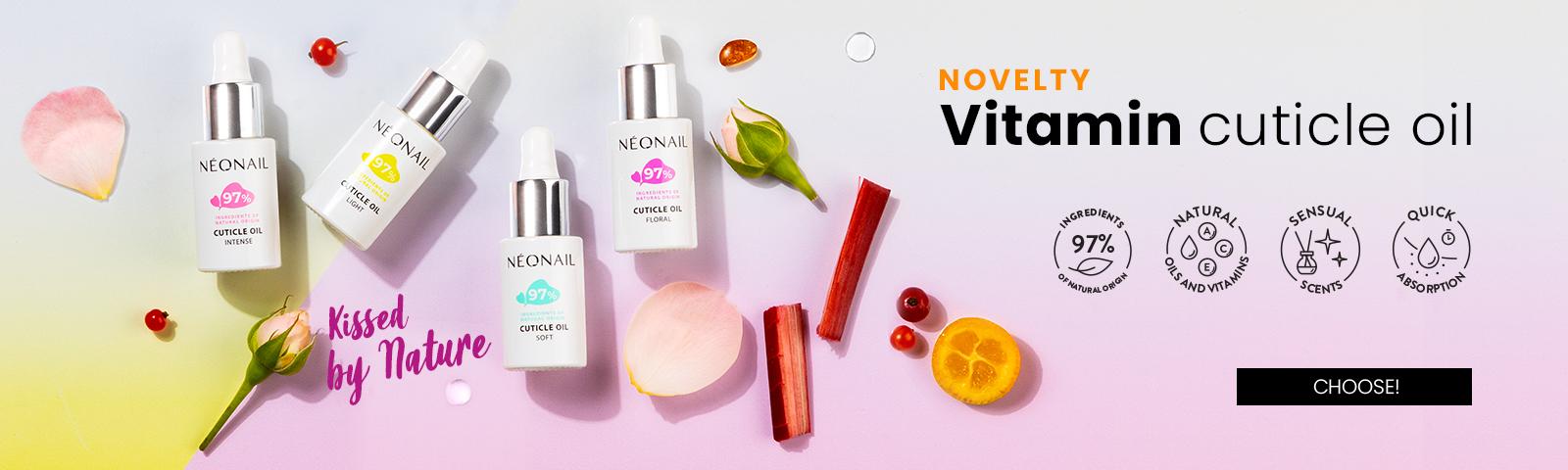 Oliwki witaminowe Vitamin Cuticle OilKissed by Nature  Choose!