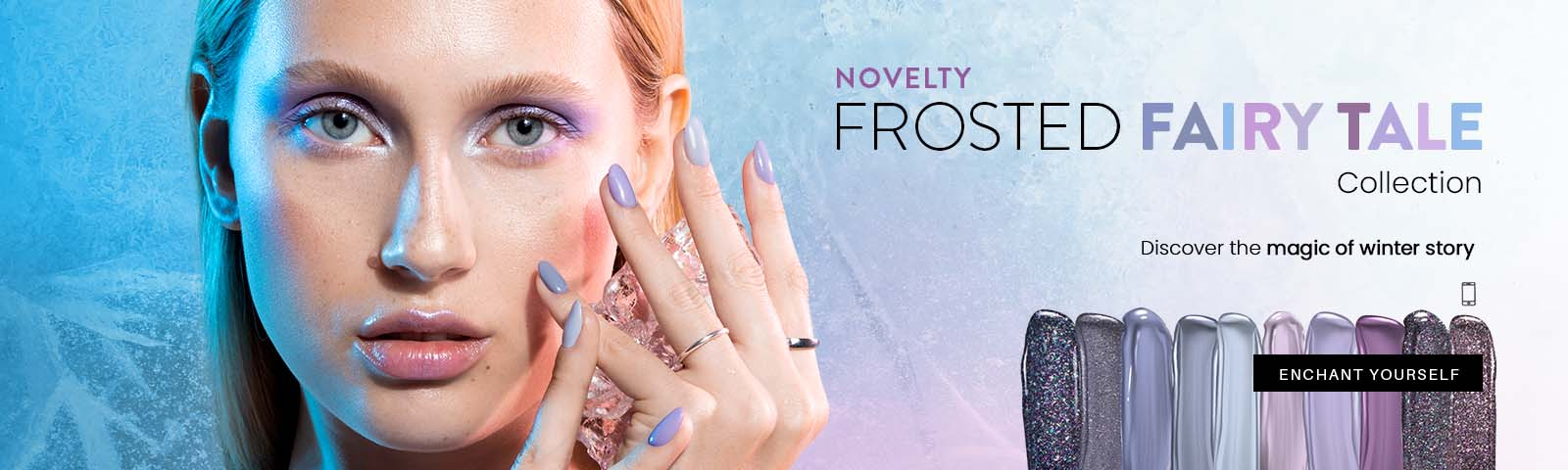 kolekcja zimowa 11.10 NEW WINTER COLLECTION  FROSTED FAIRY TALE  CHECK IT OUT!