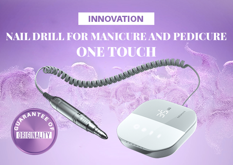 Frezarka 7990 Innovation for manicure and pedicure  ONE TOUCH!