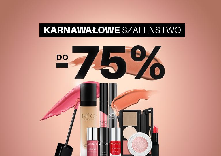 Rabaty do -75 Wybrane produkty do -75%  BĘDĄ MOJE!