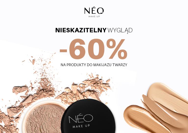 NMU -60 Nieskazitelny wygląd-60% na produkty do makijażu twarzy  BĘDĘ LŚNIĆ!
