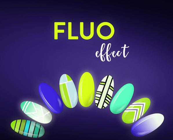 Jak wygląda Fluo Effect NEONAIL napaznokciach?