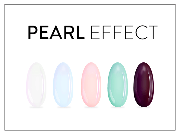 Efekty z pyłkiem Pearl Effect.