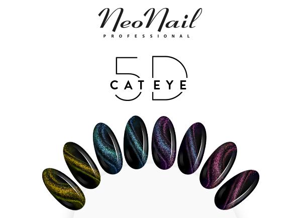 Cat Eye 5D kolekcija - NeoNail Hybrid lak za nohte
