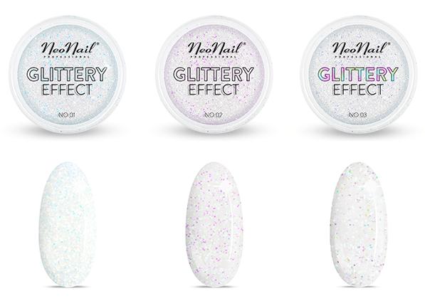 Kolekcja pyłków Glittery Effect