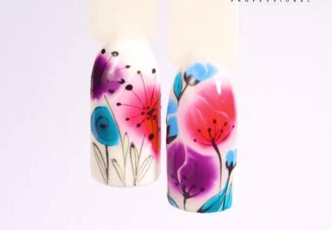 Kwiaty Aquarelle