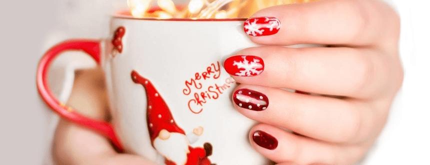 Paznokcie na Święta. Moc inspiracji na efektowny manicure hybrydowy