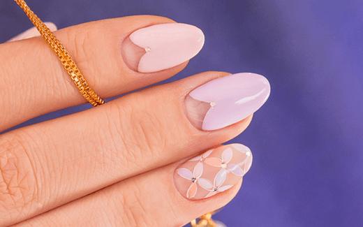 Manicure hybrydowy w pastelowym wydaniu