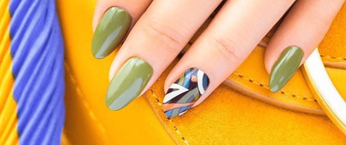 Manicure w kolorach jesieni
