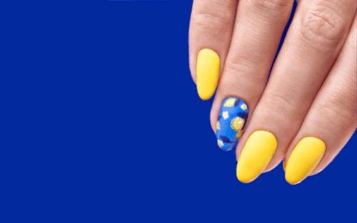 Cytrynowe zdobienie na paznokciach – idealny pomysł na letni manicure