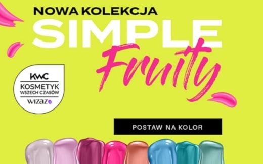 Odkryj kolory lakierów SIMPLE na wiosnę
