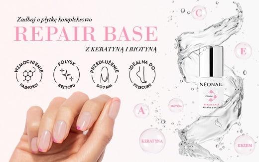 Rewolucyjna nowość! Repair Base - baza hybrydowa wzmacniająca paznokcie