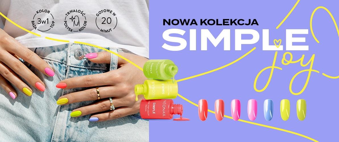 Neonowe paznokcie na lato 2021