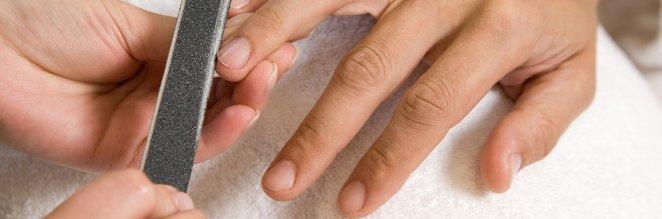 Pielegnacja męskich dłoni.