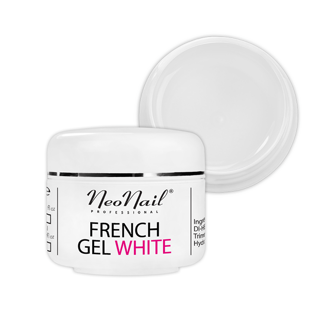 Żel French biały-naturalny 15 ml do manicure