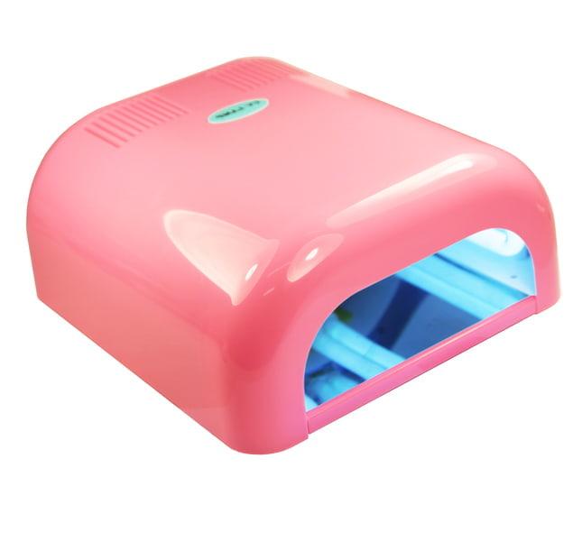 Profesjonalna lampa UV - różowa 36 W