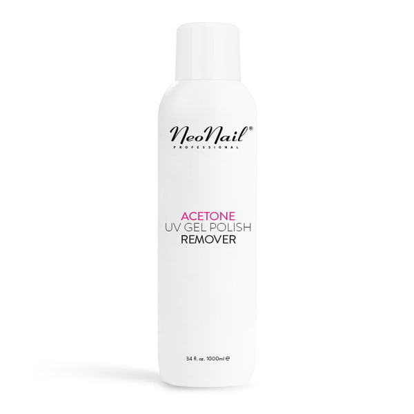Acetone UV Gel Polish Remover - Aceton 1000 ml do usuwania manicure hybrydowego