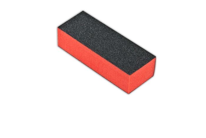 Blok do paznokci czerwony 3-stronny