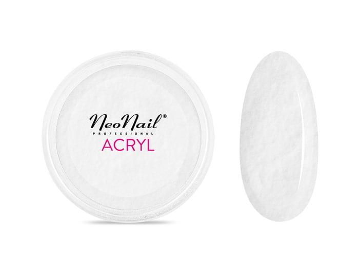 Proszek akrylowy 5 g - biały do manicure