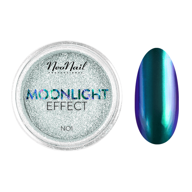 pyłek do stylizacji paznokci Puder Moonlight Effect 01