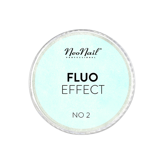 Puder Fluo Effect 02 do stylizacji na paznokciach