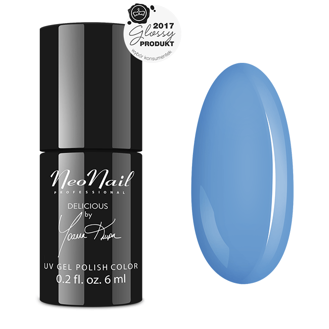 Uv Gel Polish 6 Ml Blue Cream Jelly Neonail