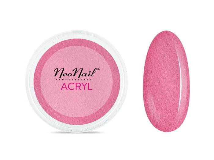 Proszek akrylowy 5 g - różowy do manicure