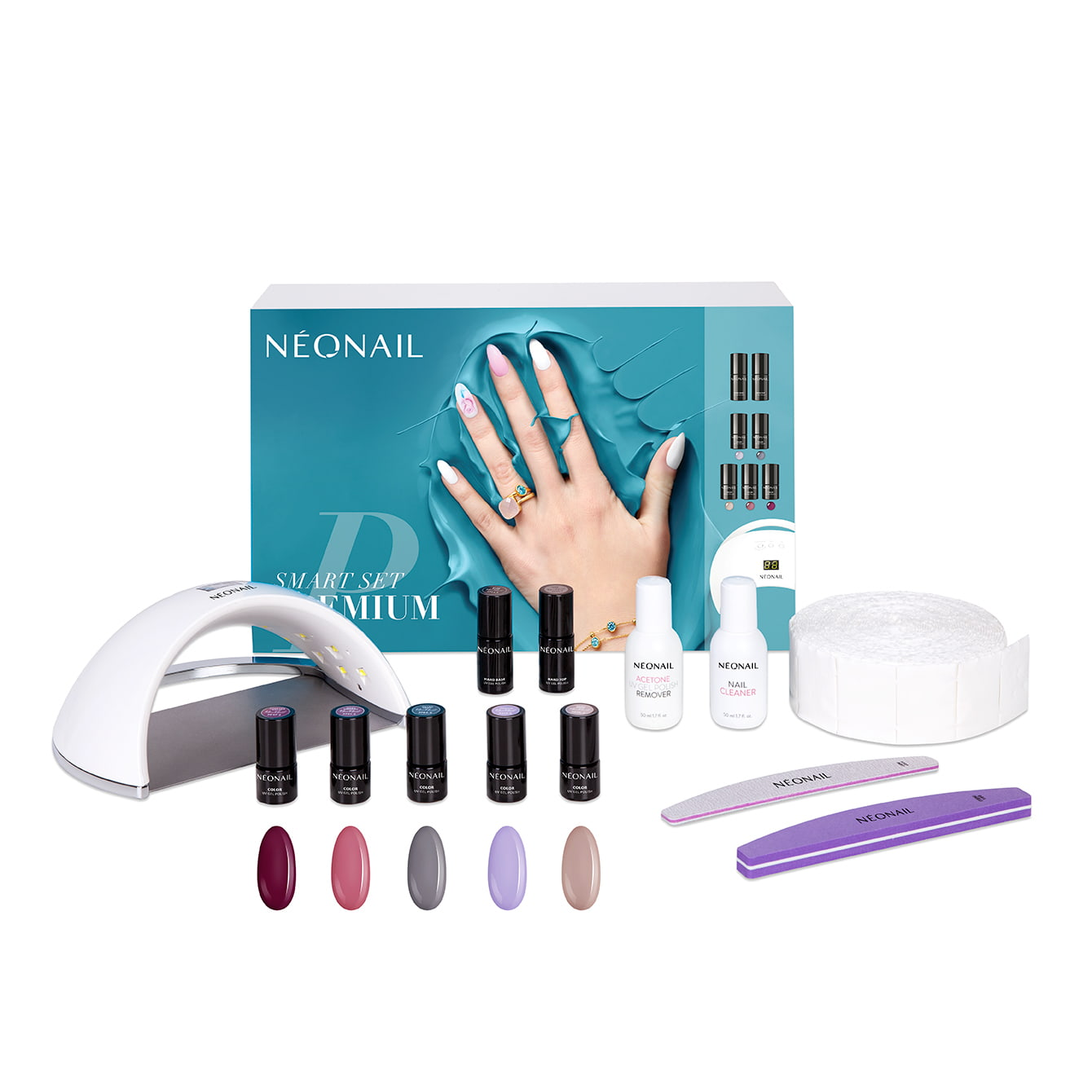 NeoNail Zestaw Smart Set Premium / Zestawy do manicure