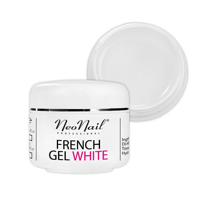 Żel French biały - naturalny 5 ml do manicure