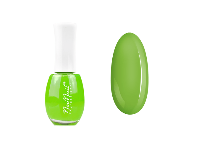 Lakier klasyczny neonowa zieleń NeoNail 15 ml