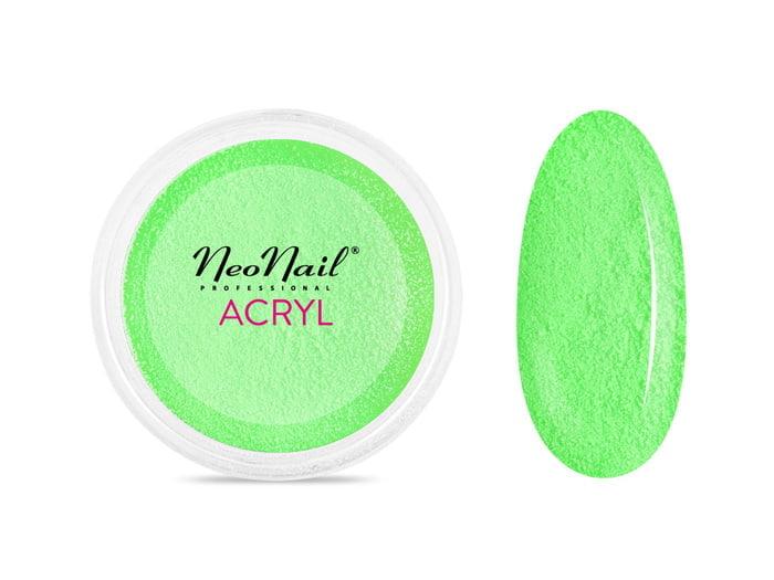 Proszek akrylowy 5 g - neonowa zieleńdo manicure