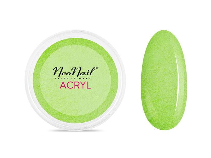 Proszek akrylowy 5 g - zielony  do manicure