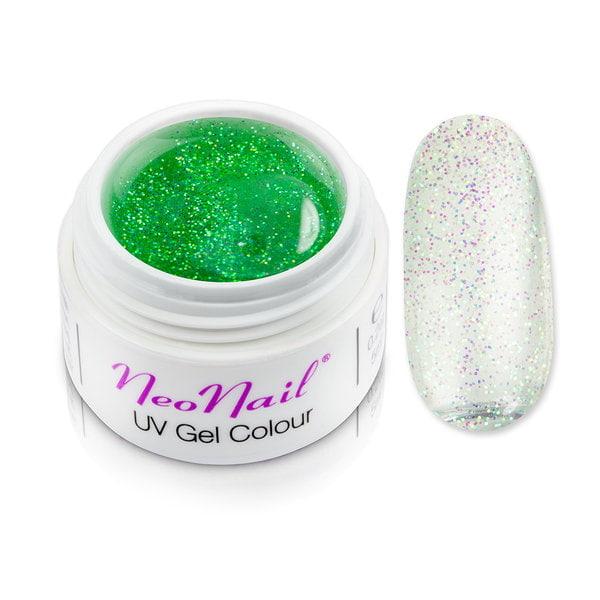 Żel kolorowy basic 5 ml Mistic Glow - Spring Green do manicure