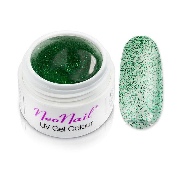 Żel kolorowy basic 5 ml Mistic Glow - Emerald Green do manicure