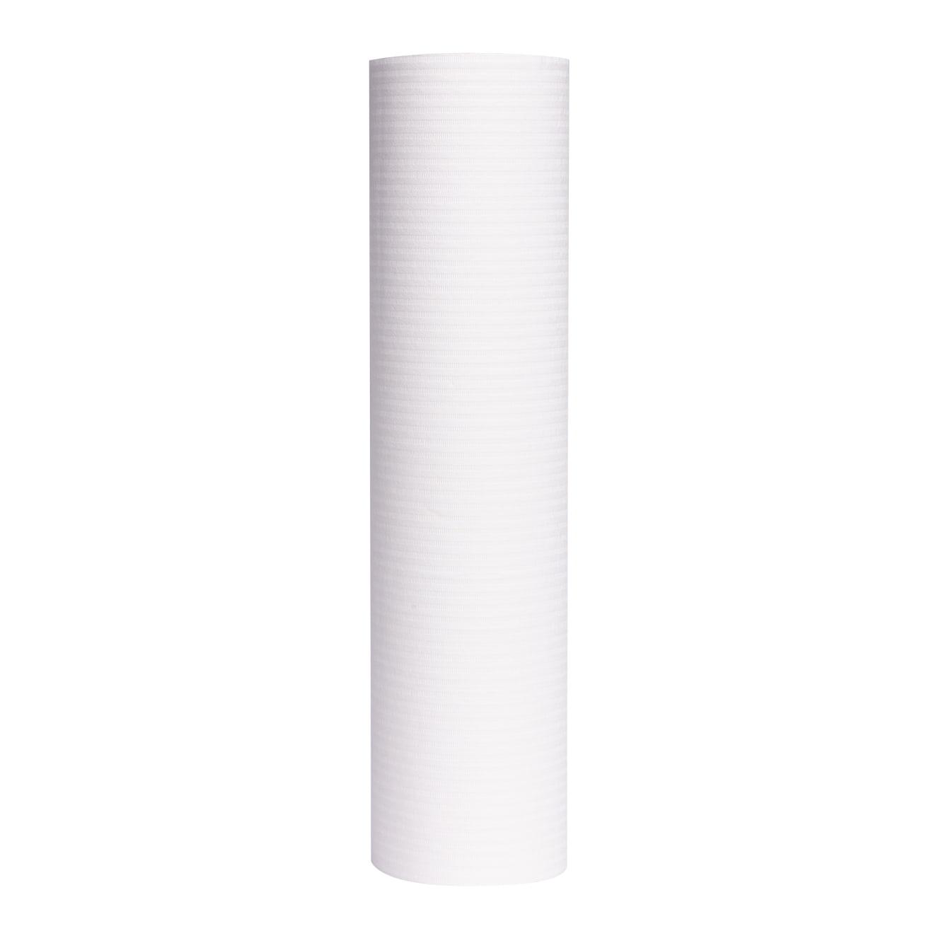 Serweta bibułowo - foliowa - biała wysoka jakość