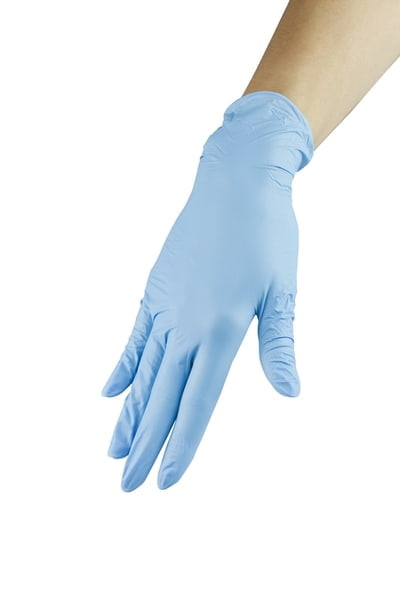 Rękawiczki nitrylowe - niebieskie, rozmiar L wysoka jakość