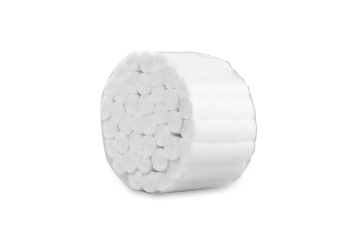 Wałki bawełniane, separatory - 40szt wysoka jakość