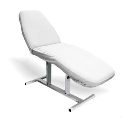 Pokrowiec frotte na fotel kosmetyczny - Biały do gabinetów