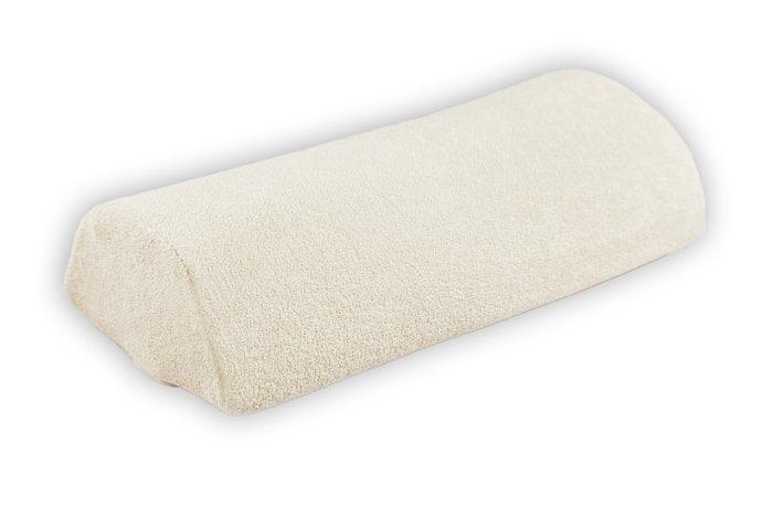 Poduszka pod rękę frotte - ecru do manicure
