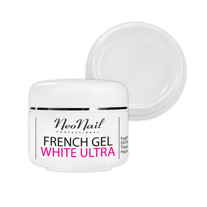 Żel French biały-ultra 15ml do manicure