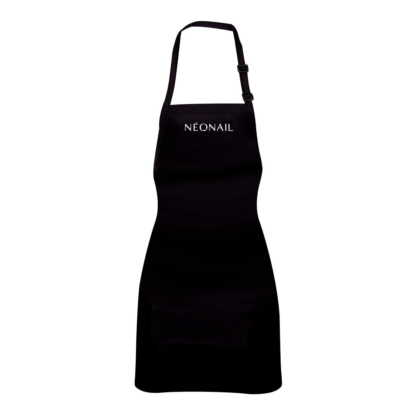 Fartuch kosmetyczny NeoNail czarny wygląd
