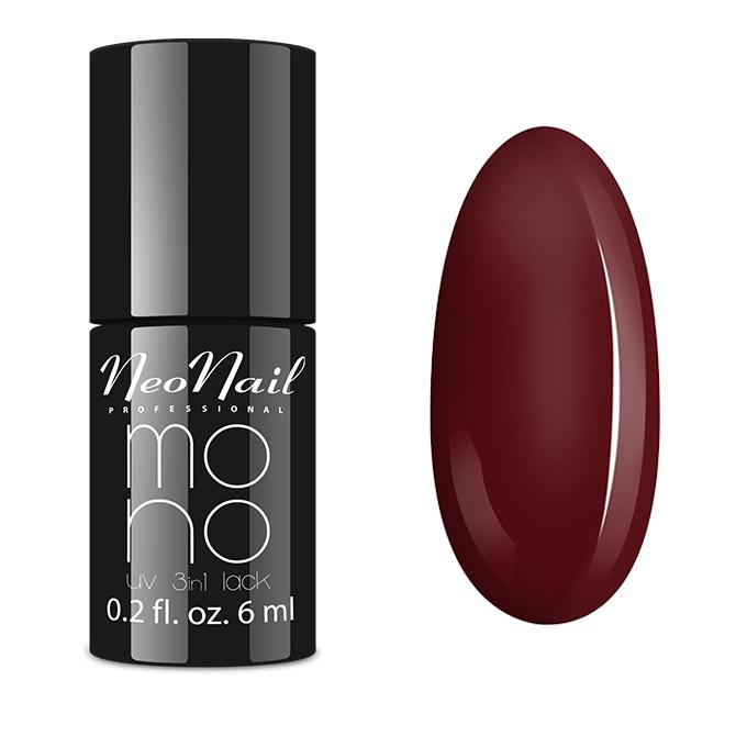 lakier do manicure hybrydowego Mono UV 3 in1 lack Wine Red