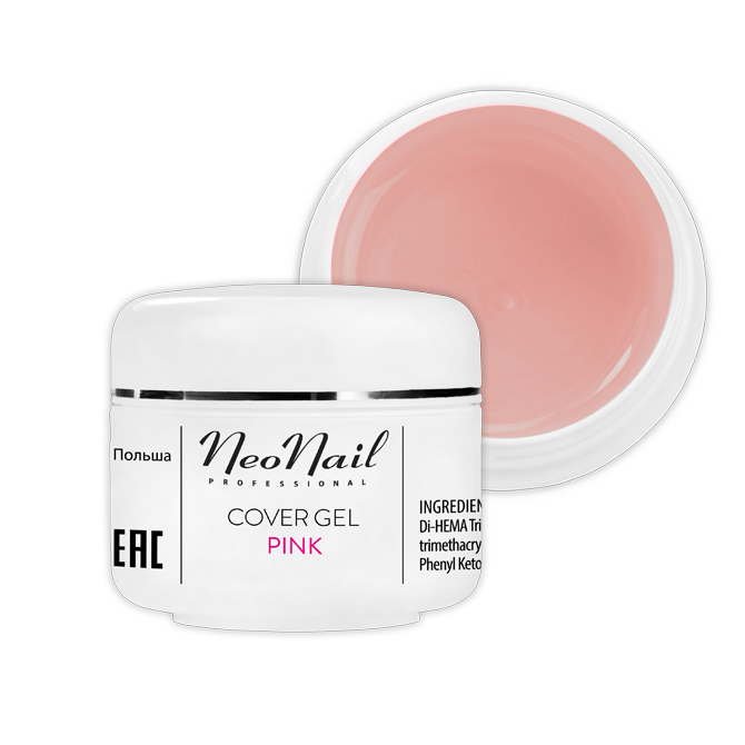 Żel Cover Pink 15ml do manicure